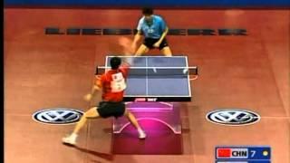 【Video】Wang Liqin VS OH Sangeun, 2005 World Table Tennis Championships semifinal