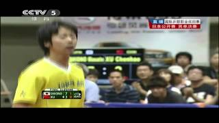 【Video】MASATO Shiono VS XU Chenhao, 2013  Japan Open, Super Series finals