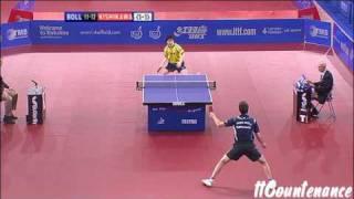 【Video】BOLL Timo VS  Kishikawaseiya, 2009 English Open quarter finals