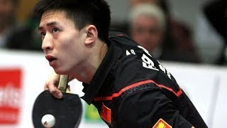 【Video】FLORE Tristan VS FANG Bo, 2014  Korea Open  best 16