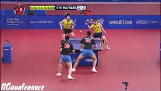 【Video】 Kishikawaseiya・JUN Mizutani VS MA Long・Wang Liqin, 2009 English Open finals