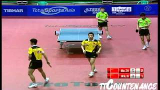 【Video】Wang Liqin・XU Xin VS Ma Lin・ZHANG Jike, 2011 UAE Open - ITTF Pro Tour  finals
