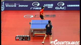 【Video】KAZUHIRO Chan VS Hao Shuai, 2013  Austrian Open, Major Series quarter finals