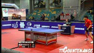 【Video】TAKU Takakiwa VS Hao Shuai, 2013  Austrian Open, Major Series semifinal