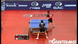【Video】CHUANG Chih-Yuan VS ZHOU Yu, 2013  Austrian Open, Major Series quarter finals