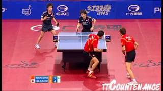 【Video】WANG Hao・ZHOU Yu VS KENTA Matsudaira・KOKI Niwa, 2012  Polish Open finals