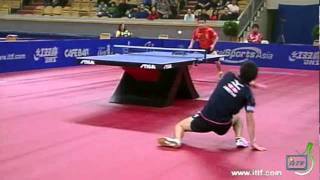 【Video】JUN Mizutani VS WANG Hao, 2011 Swedish Open - ITTF Pro Tour quarter finals