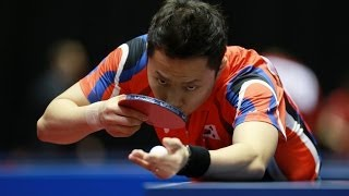 【Video】OUAICHE Stephane VS CHO Eonrae, 2014  Korea Open  best 64