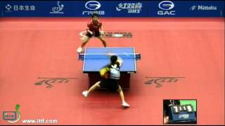 【Video】MASATO Shiono VS HUNG Tzu-Hsiang, 2012  Japan Open