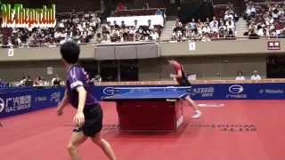 【Video】MASATO Shiono VS HACHARD Antoine, 2014  Japan Open  best 64
