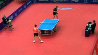 【Video】MA Long VS BAUM Patrick, 2011 Austrian Open - ITTF Pro Tour best 16