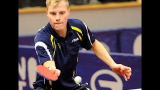 【Video】XU Xin VS TORNKVIST Andreas, 2013  Swedish Open, Major Series best 64