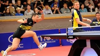 【Video】GERELL Par・YAN An VS LUNDQVIST Jens・XU Xin, 2013  Swedish Open, Major Series finals