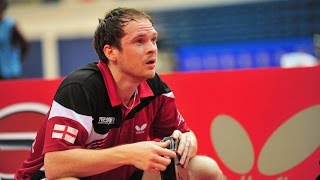 【Video】OVTCHAROV Dimitrij VS DRINKHALL Paul, 2014  Airports of Regions Russian Open  semifinal