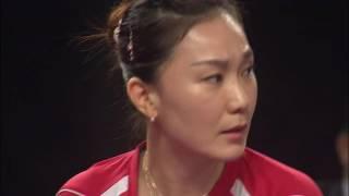 【Video】SHAN Xiaona VS CHEN Meng, 2017 Seamaster 2017 Platinum, Qatar Open semifinal