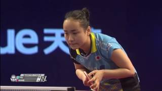 【Video】MIMA Ito VS WANG Manyu, 2017 Seamaster 2017 Platinum, Qatar Open quarter finals