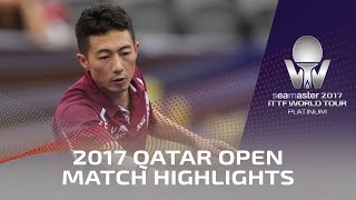 【Video】MA Long VS LI Ping, 2017 Seamaster 2017 Platinum, Qatar Open best 16