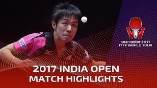 【Video】KOKI Niwa VS ANTHONY Amalraj, 2017 Seamaster 2017 India Open best 32