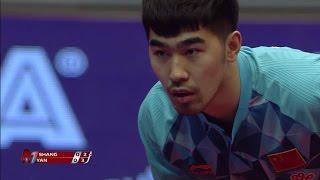 【Video】YAN An VS SHANG Kun, 2017 Seamaster 2017 Hungarian Open finals
