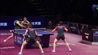 【Video】JEON Jihee・YANG Haeun VS CHEN Meng・WANG Manyu, 2017 Seamaster 2017 Platinum, Qatar Open finals