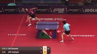 【Video】JOO Saehyuk VS LIN Gaoyuan, 2017 Seamaster 2017 Hungarian Open quarter finals