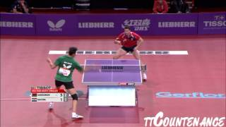 【Video】SAMSONOV Vladimir VS GACINA Andrej, LIEBHERR 2013 World Table Tennis Championships best 32