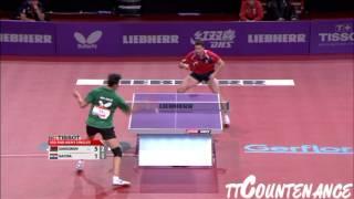 【Video】SAMSONOV Vladimir VS GACINA Andrej, LIEBHERR 2013 World Table Tennis Championships best 32