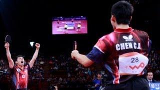 【Video】Hao Shuai・Ma Lin VS CHEN Chien-An・CHUANG Chih-Yuan, LIEBHERR 2013 World Table Tennis Championships finals