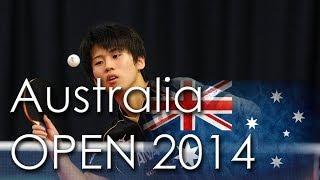 【Video】YANG Zi VS ASUKA Sakai, 2014  Ozcare Australia Open  quarter finals