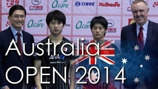 【Video】ASUKA Sakai VS KOHEI Sambe, 2014  Ozcare Australia Open  finals