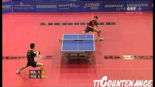 【Video】BOLL Timo VS KAII Yoshida, LIEBHERR 2010 Austrian Open - ITTF Pro Tour  quarter finals