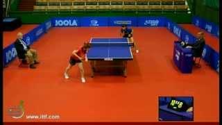 【Video】HARUNA Fukuoka VS YANG Haeun, 2012  Czech Open quarter finals