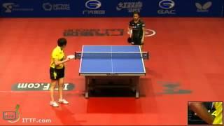 【Video】HIRANO Sayaka VS Zhu Yuling, 2013  Russian Open, Major Series best 16