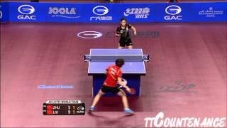 【Video】Zhu Yuling VS LIU Shiwen, 2016 Qatar Open  semifinal