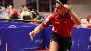 【Video】RYOTARO Ogata VS OUAICHE Stephane, 2014  Belarus Open  best 16