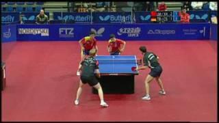 【Video】BOLL Timo・SUSS Christian VS MA Long・XU Xin, 2009 Danish Open finals