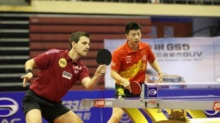 【Video】OVTCHAROV Dimitrij・YAN An VS BOLL Timo・MA Long, 2013  China Open, Super Series finals