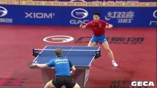【Video】FANG Bo VS BAUM Patrick, 2014  Korea Open  semifinal
