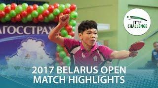 【Video】SAMSONOV Vladimir VS SUN Chia-Hung, 2017 ITTF Challenge, Belgosstrakh Belarus Open semifinal