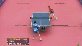 【Video】PARK Miyoung VS Zhu Yuling, 2010 Japan Open - ITTF Pro Tour  semifinal