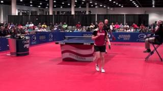【Video】MEGUMI Abe VS POTA Georgina, 2014  Belgium Open  finals
