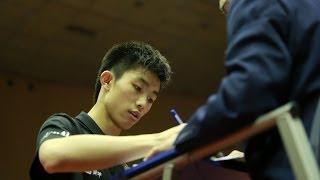 【Video】MASATAKA Morizono VS ZHOU Kai, 2014  Japan Open  best 16