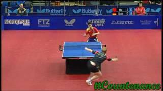 【Video】MA Long VS SUSS Christian, 2009 Danish Open semifinal