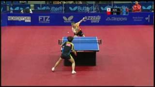 【Video】KIM Kyungah VS LIU Shiwen, 2009 Danish Open finals
