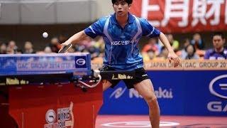 【Video】KANG Dongsoo VS YUTO Muramatsu, 2014  Japan Open  quarter finals