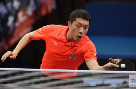 Xu Xin's Equipment | Racket & Rubbers - Tabletennis Reference
